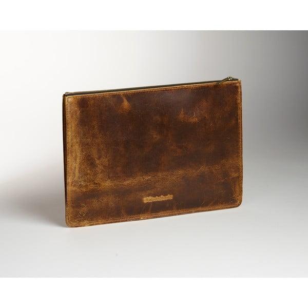 Pánská kožená kapsa na dokumenty Coach, 37x26 cm