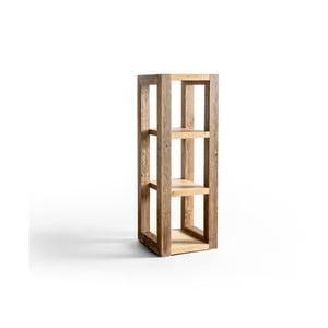 Etajeră din lemn Antique Wood, înălțime 118 cm