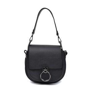 Černá kožená kabelka Anna Luchini Paresso