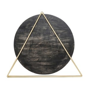 Černá stolní lampa Kare Design Triangle