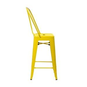 Žlutá barová židle D2 Paris