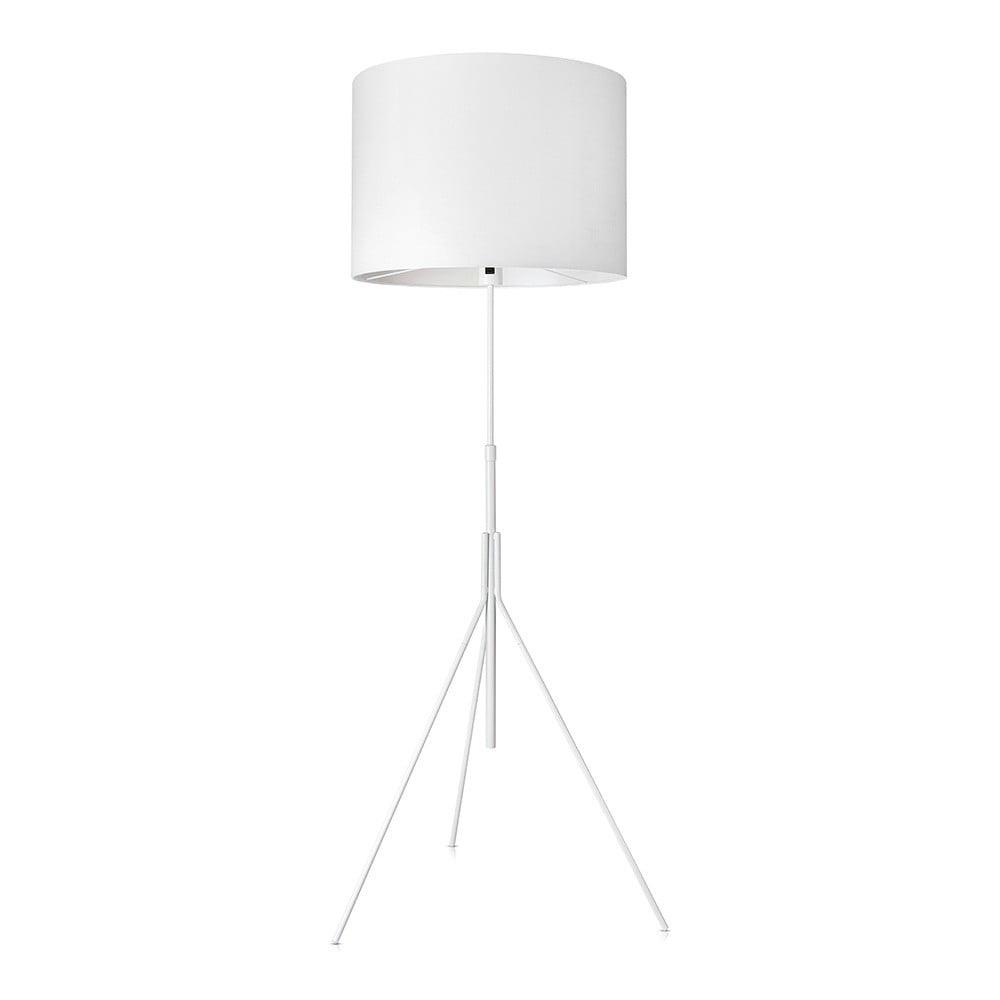 Bílá stojací lampa Markslöjd Sling