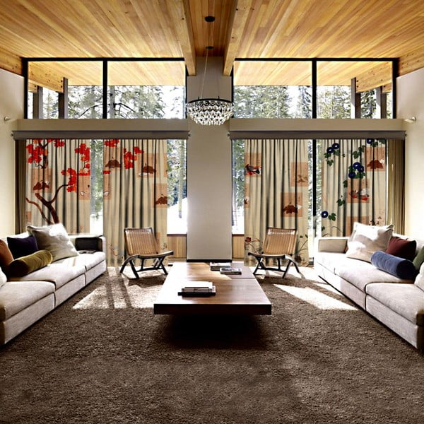 Set 4 draperii Curtain Desso, 140 x 260 cm