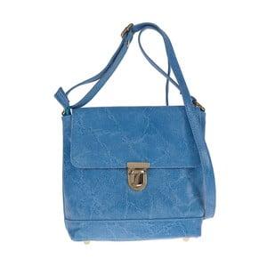 Modrá kožená kabelka Tina Panicucci Julia