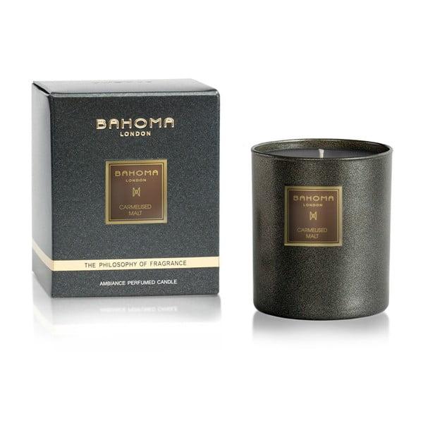 Svíčka s vůní karamelizovaného sladu Bahoma London, 75 hodin hoření