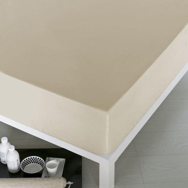 Prostěradlo Home Cream, 160x200 cm
