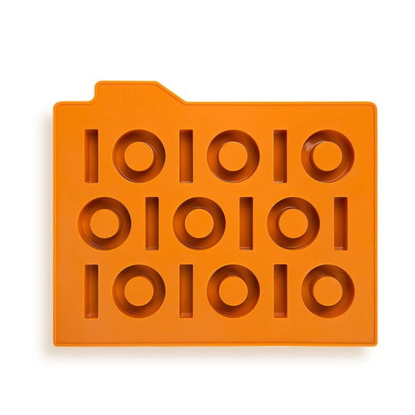Forma na led Binary, oranžová