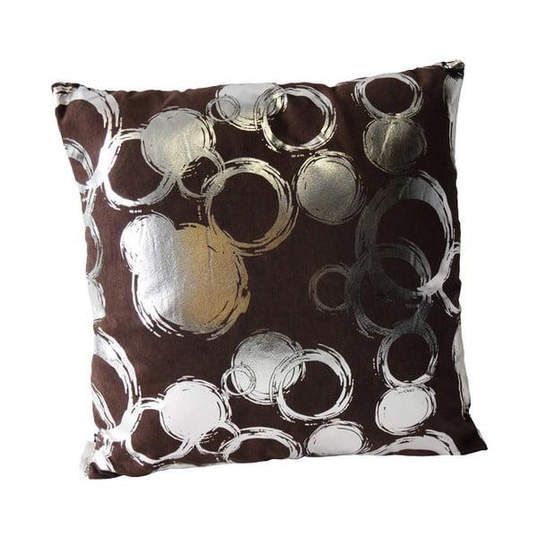 Polštář Silver Circles, 45x45 cm
