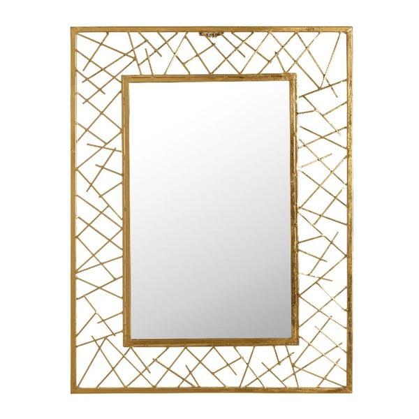 Zrcadlo Golden Vibe, 61x81 cm