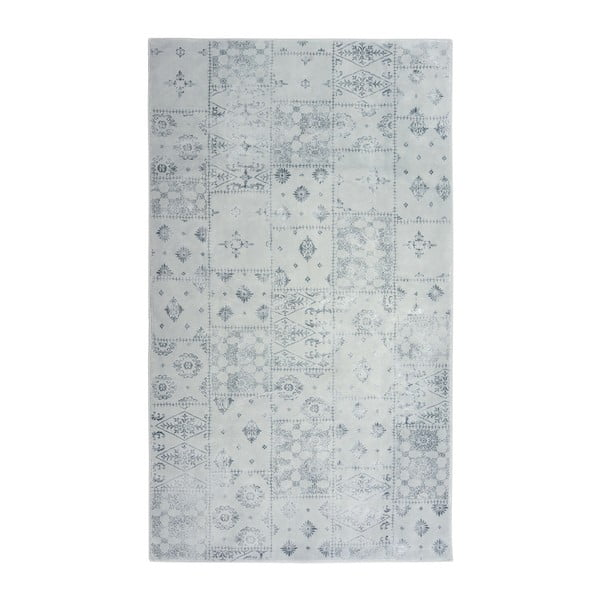 Šedý koberec Floorist Mosaic Grey, 140x200cm