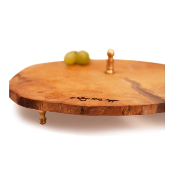 Dřevěný tác Slice