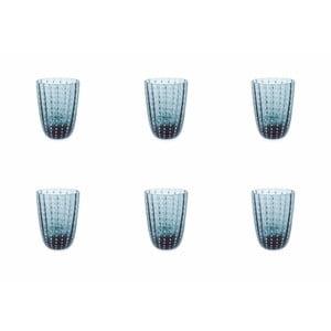 Sada 6 modrých sklenice Villa d´Este Kalahari