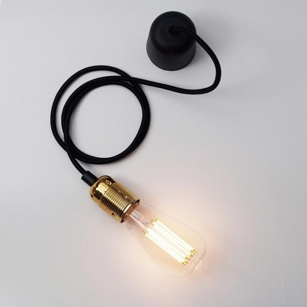 Černozlatý závěsný kabel Bulb Attack Uno