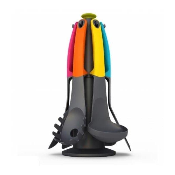 Sada nástrojů s otočným stojanem Elevate Carousel, barevné