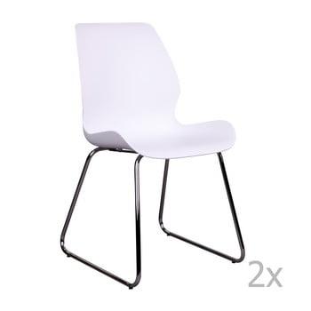 Set 2 scaune House Nordic Sola, alb de la House Nordic