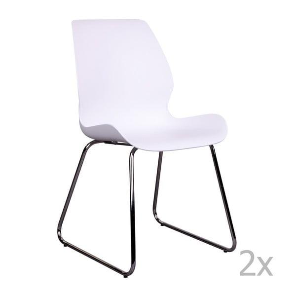 Sola 2 db fehér szék - House Nordic