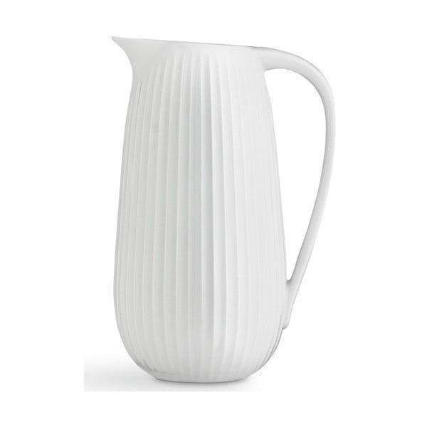 Biely porcelánový džbán Kähler Design Hammershoi, 1,25 l