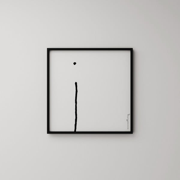 Plakát Litera I, 50x50 cm