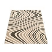 Koberec Webtappeti Reflex Brown Stripes, 160 x 230 cm