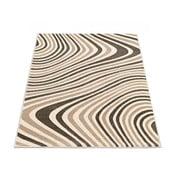 Koberec Webtappeti Reflex Brown Stripes, 80x150 cm