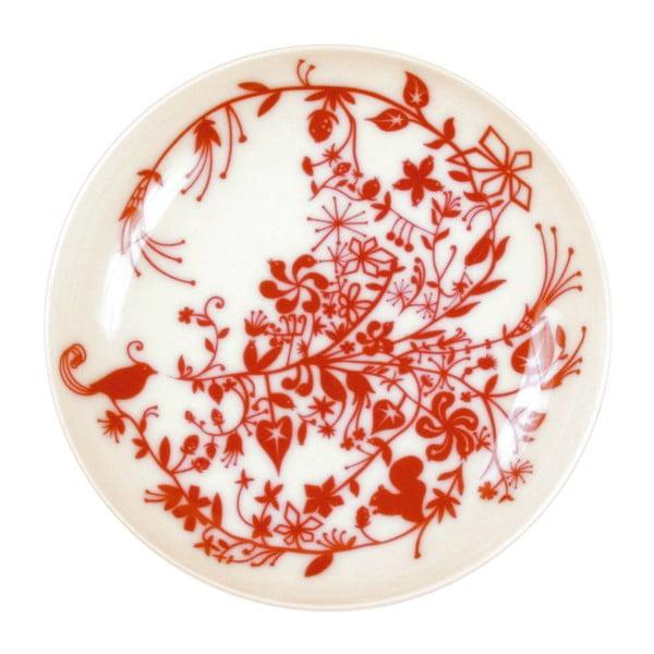 Sada 2 polévkových talířů Bird Swirl