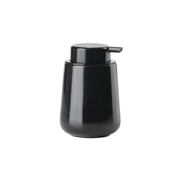 Černý dávkovač mýdla Zone Nova Shine