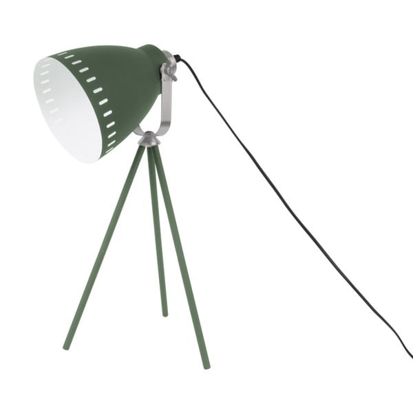Zielona lampa stołowa Leitmotiv Tristar