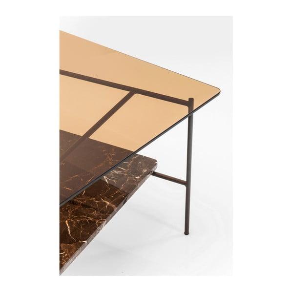 Kovový konferenční stolek Kare Design Salto, 80 x 80 cm