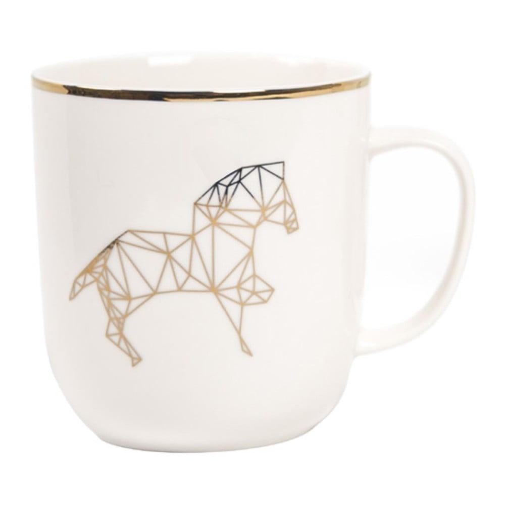 Hrnek z kostního porcelánu Sabichi Harry Horse, 385 ml