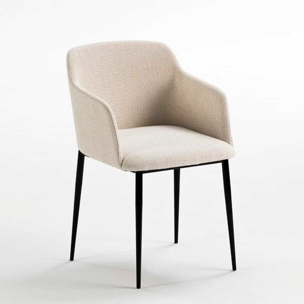 Bílá polstrovaná židle Thai Natura