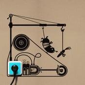Samolepka Hamster Treadmill