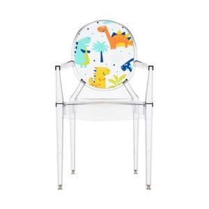Dětská transparentní židle Kartell Lou Lou Ghost Animals