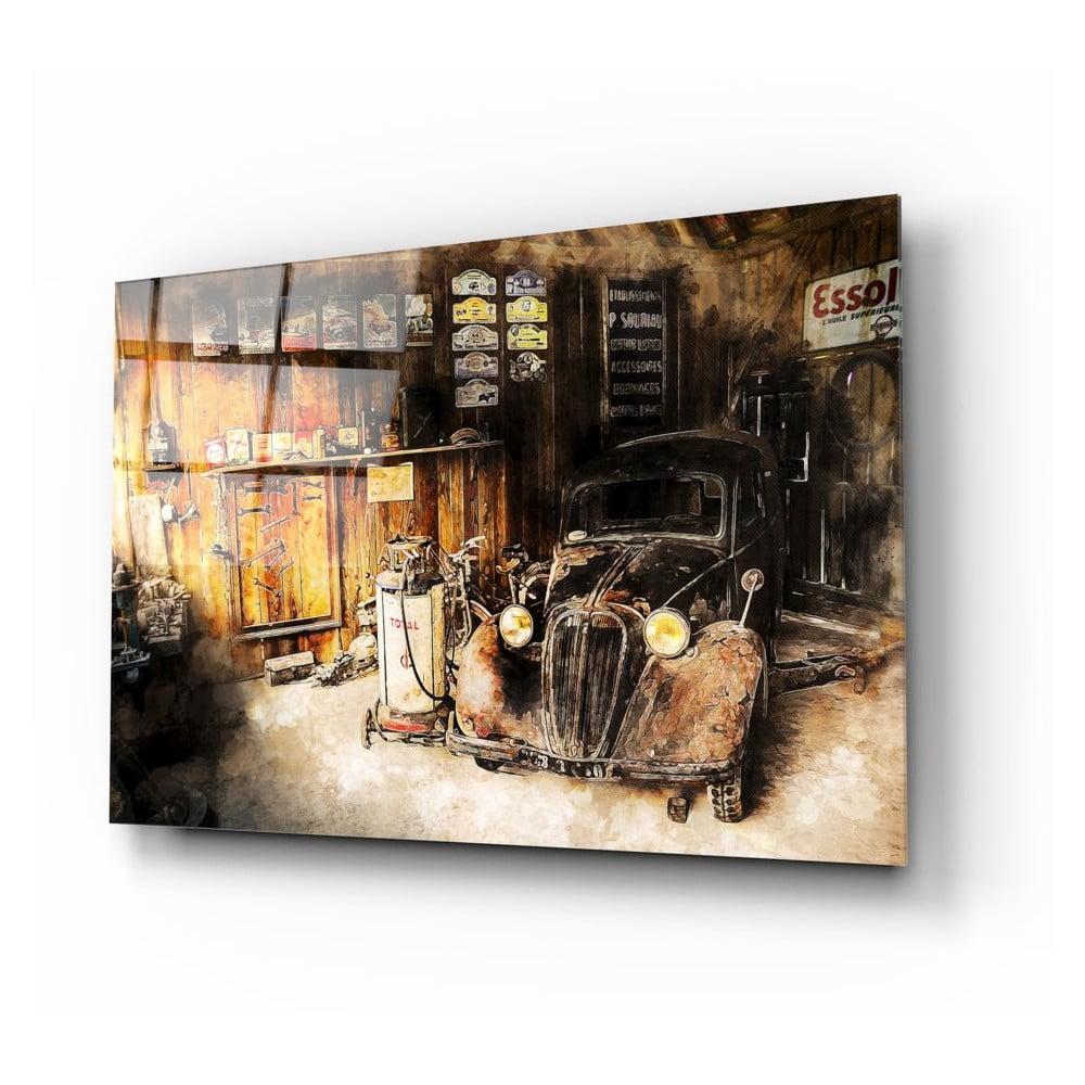 Skleněný obraz Insigne Old Car