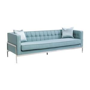 Canapea cu 3 locuri Kare Design Loft, albastru