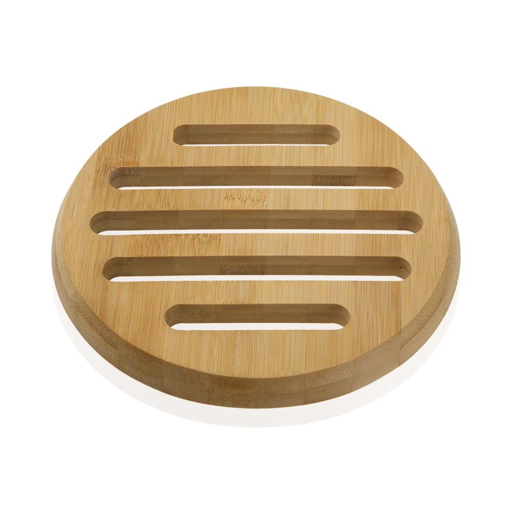 Bambusová podložka pod hrnec Versa Bambú, ø 20 cm