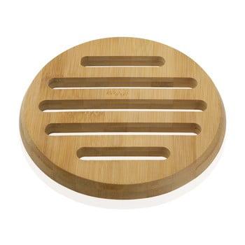 Suport din bambus pentru vase fierbinți Versa Bambú, ø20cm imagine