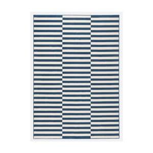 Covor Hanse Home Gloria Panel, 80x150cm, alb albastru