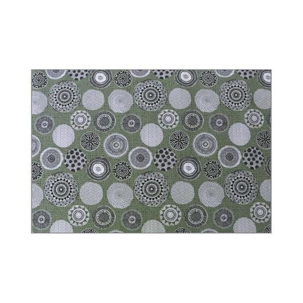 Zelený záhradný koberec Hartman Esteli, 170 × 120 cm