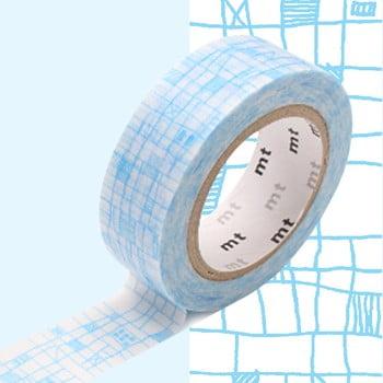 Bandă decorativă Washi MT Masking Tape Victorine, rolă 10 m imagine