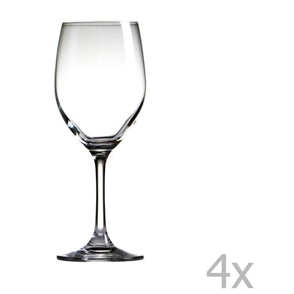 Sada 4 sklenic na víno Sola Chardonnay, 350ml