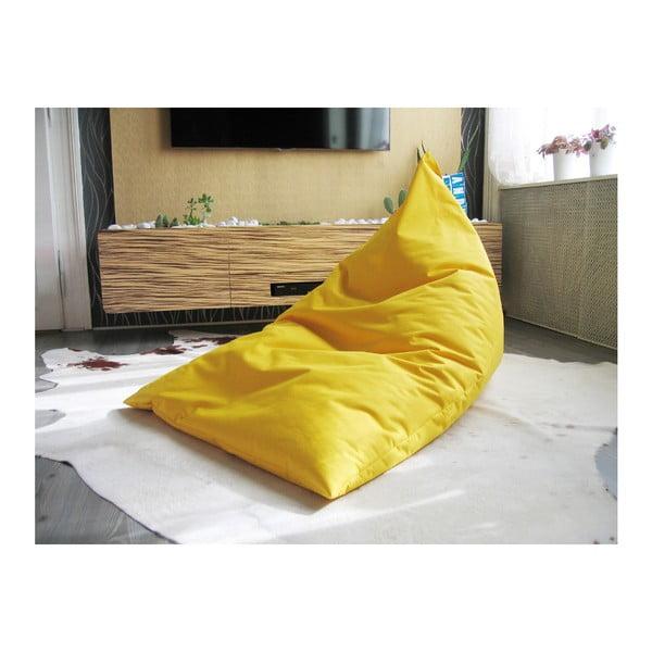 Sedací vak žlutá pyramida