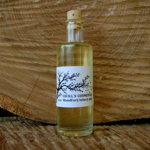 Tělový mandlový olej, 100 ml, mandle
