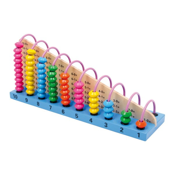 Joc motric educativ din lemn Legler Abacus