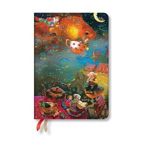Diář na rok 2019 Paperblanks Imagination Verso, 12 x 17 cm