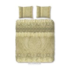 Povlečení na dvoulůžko z bavlněného saténu Muller Textiels Massika, 200 x 200 cm