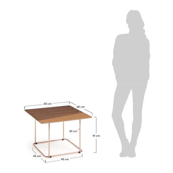 Odkládací stolek La Forma Aitana, výška 41 cm