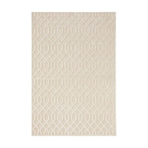 Krémový koberec Mint Rugs Shine Mero, 160 x 230 cm