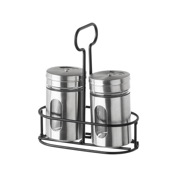 Silvery 2 db fűszertartó állvánnyal - Unimasa