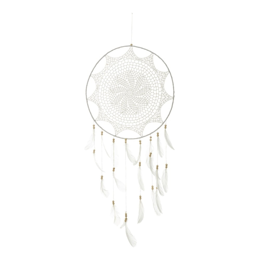Bílý lapač snů Unimasa Dream, Ø 40 cm