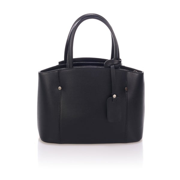 Czarna torebka skórzana Lisa Minardi Halona